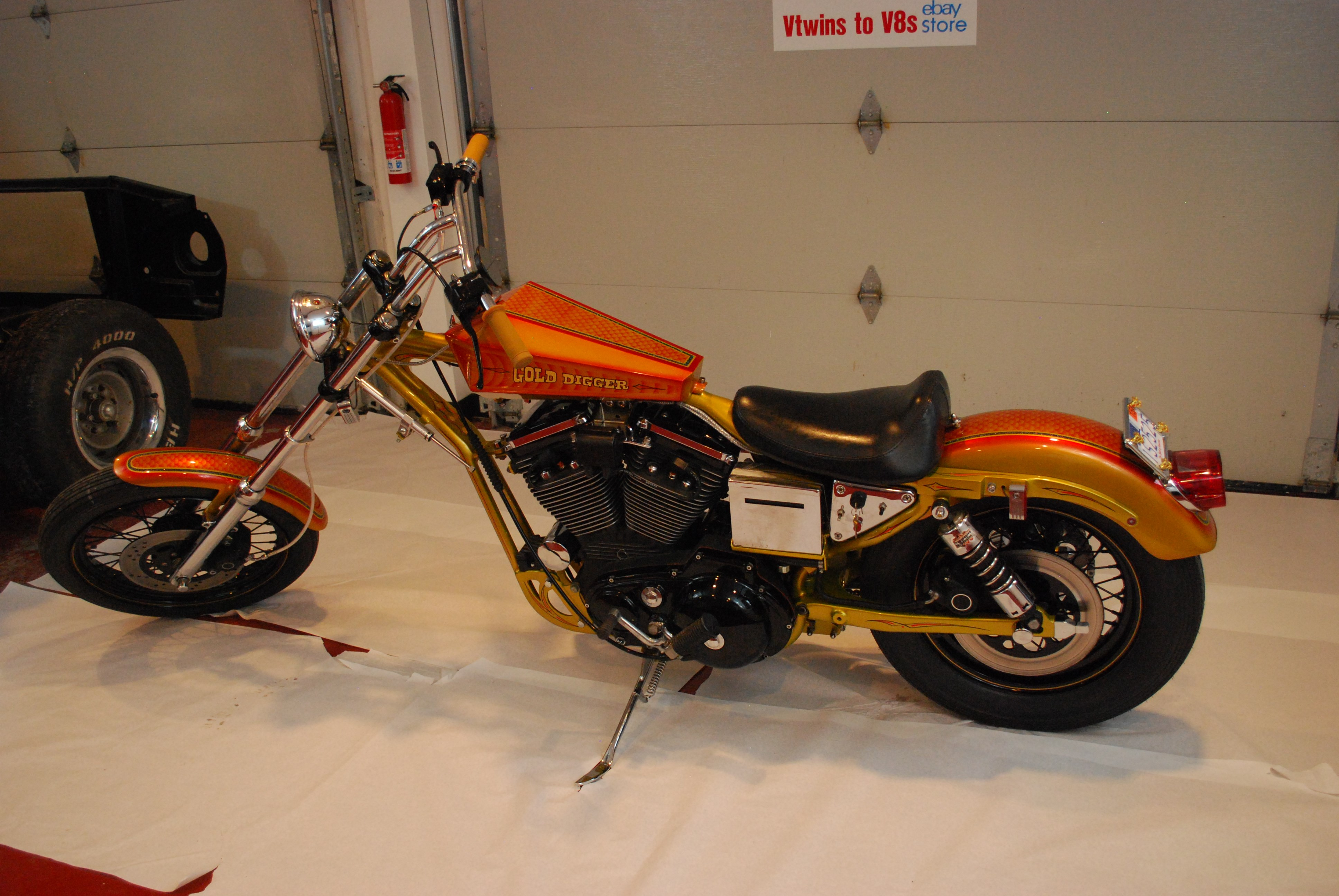 Motorcycle Dealers In Ma >> 1989 Harley-Davidson® XLH-1200 Sportster® 1200 (Gold & Red ...
