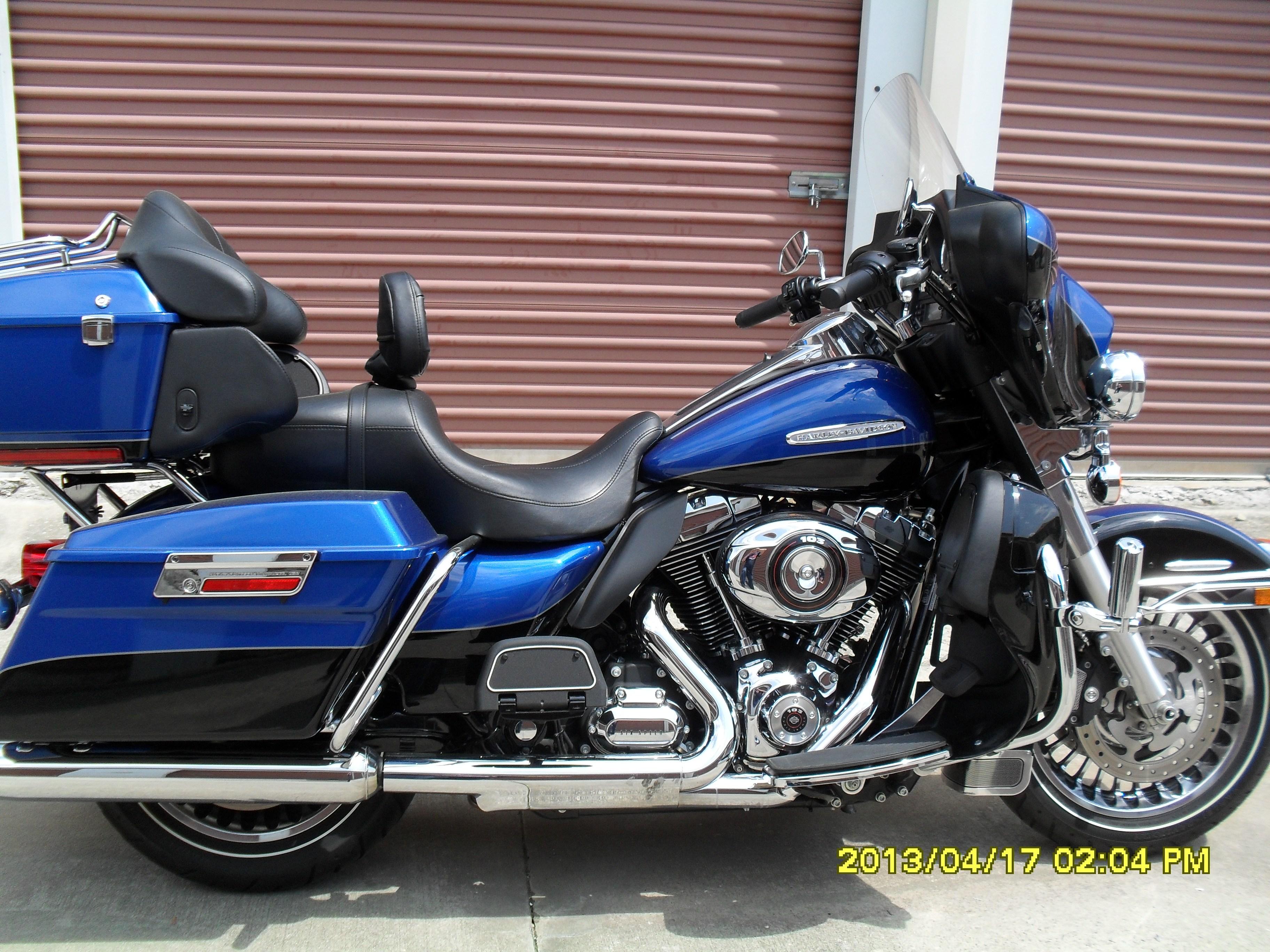 Charlotte Harley Davidson >> 2010 Harley-Davidson® FLHTK Electra Glide® Ultra Limited (Flame Blue Pearl/Vivid Black ...