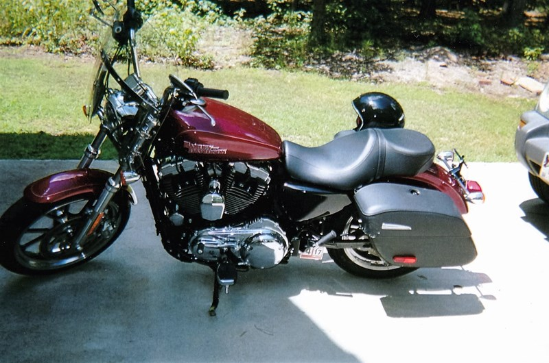 Photo of a 2016 Harley-Davidson® XL1200T Sportster® SuperLow® 1200T