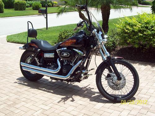 Sick Custom Dyna Wide Glide: 2010 Harley-Davidson® FXDWG Dyna® Wide Glide® (HD Custom