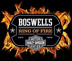 Boswell's Ring of Fire Harley-Davidson