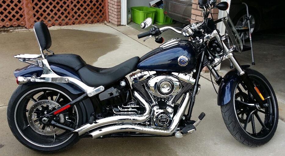 Harley Davidson Chico Ca >> 2013 Harley-Davidson® FXSB Softail® Breakout™ (Blue Pearl), Waukon, Iowa (448409) | ChopperExchange