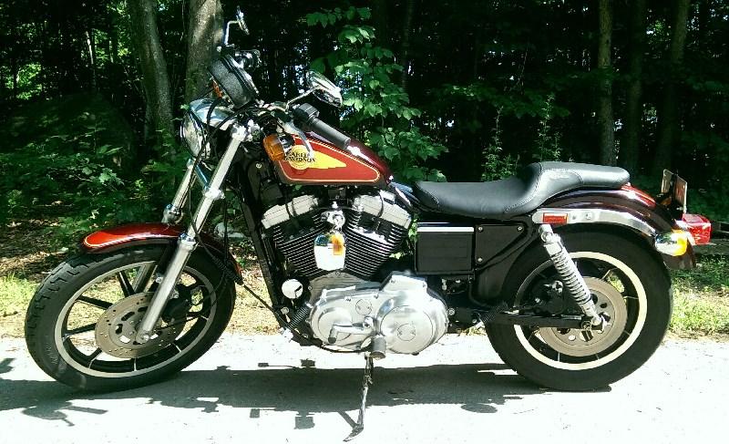 1991 Harley Davidson 174 Xlh 1200 Sportster 174 1200 Bright