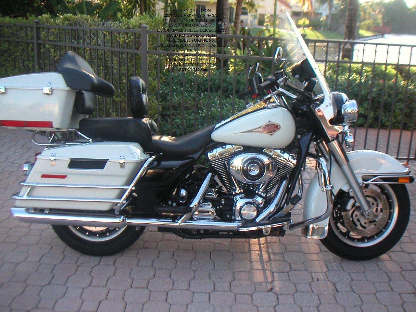 Harley Davidson Road King Police Edition