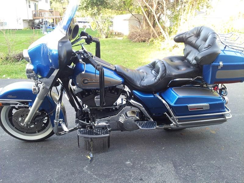 1996 Harley Davidson® FLHTC/I Electra Glide® Classic Blue ...