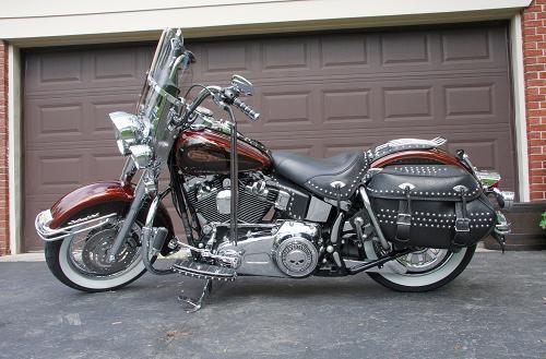 2009 Harley Davidson 174 Flstc Heritage Softail 174 Classic