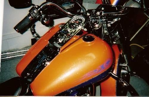1995 Harley Davidson Flstf Fat Boy House Of Kolor Tangelo Orange