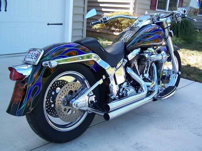 1999 Harley Davidson Flstf Fat Boy Custom Paint Multi Color