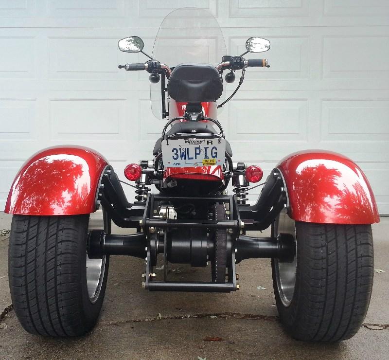 2013 Harley-Davidson® Custom Trike (Candy Orange ...