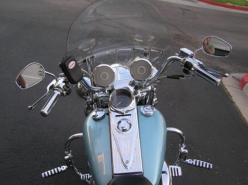 Harley Davidson Colorado Springs >> 2007 Harley-Davidson® FLHR Road King® (Blue Suede / Black ...