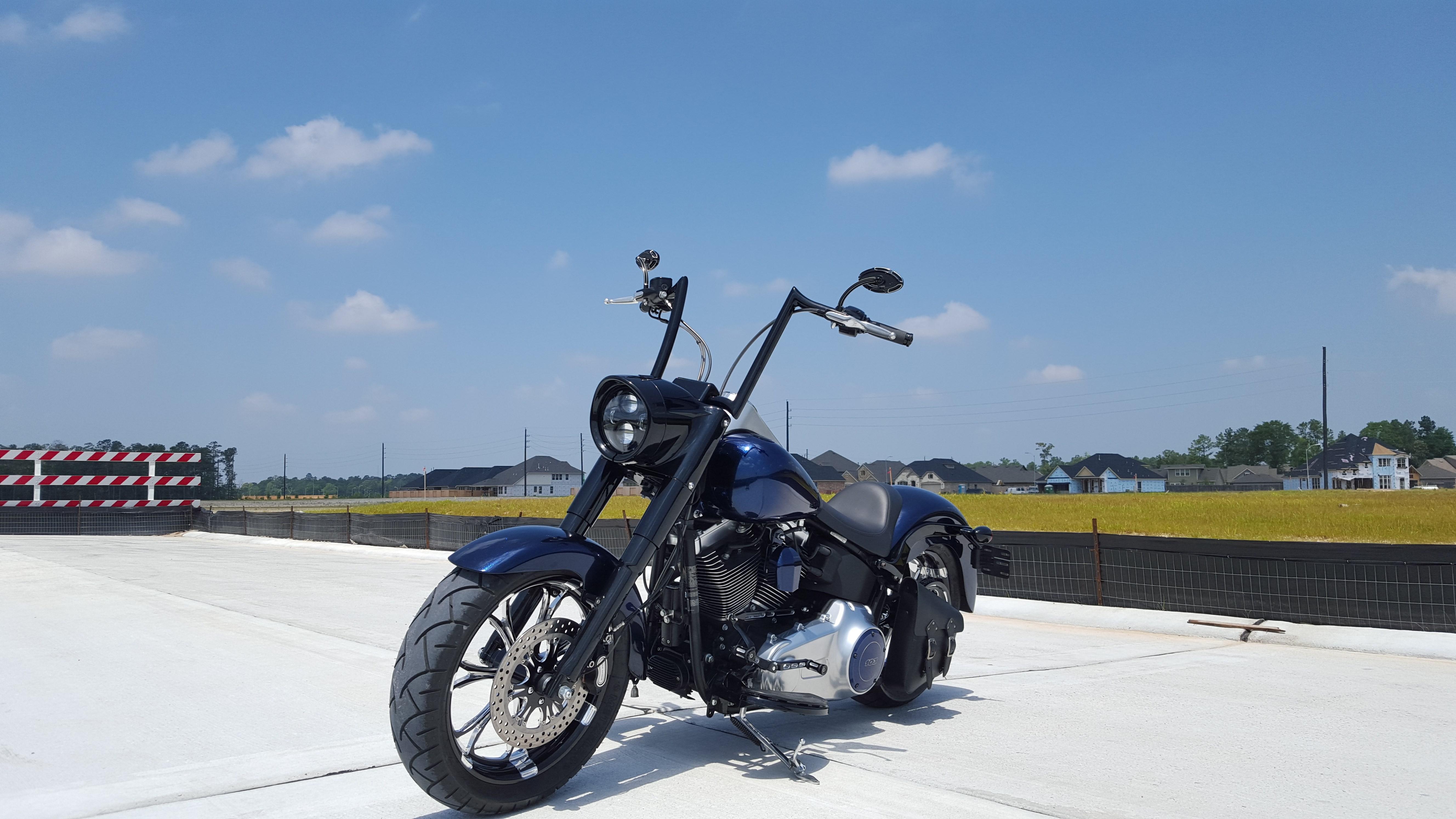 Motorcycle Dealer Orlando Fl >> 2015 Harley-Davidson® FLSTFB Softail® Fat Boy® Lo (Custom Midnight Blue), Spring, Texas (639133 ...