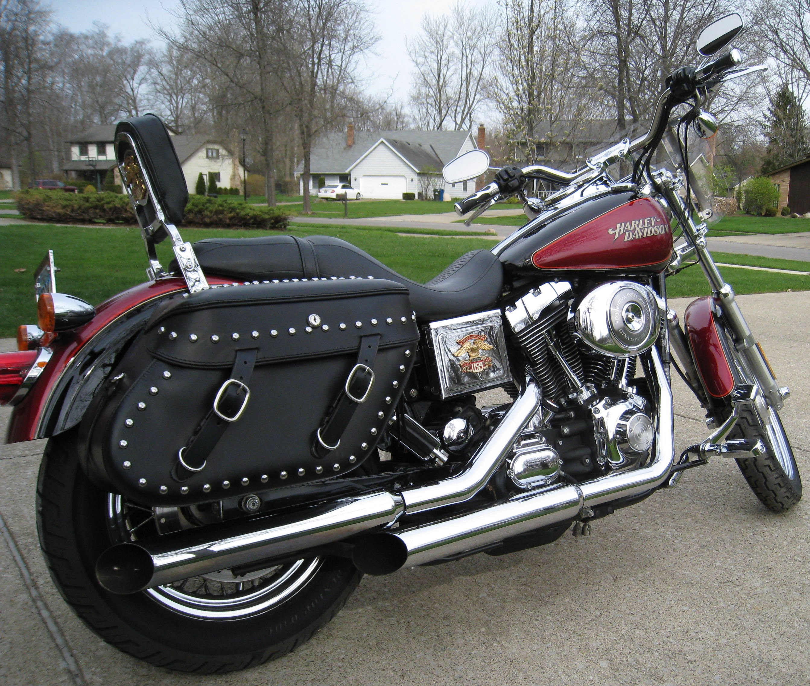 2005 Harley Davidson 174 Fxdl I Dyna 174 Low Rider Red And