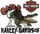 Gator Harley-Davidson's Logo