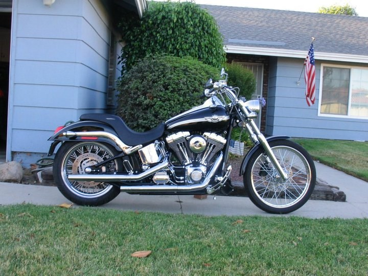 Avon Motorcycle Tires >> 2003 Harley-Davidson® FXSTD/I-ANV Softail Deuce ...