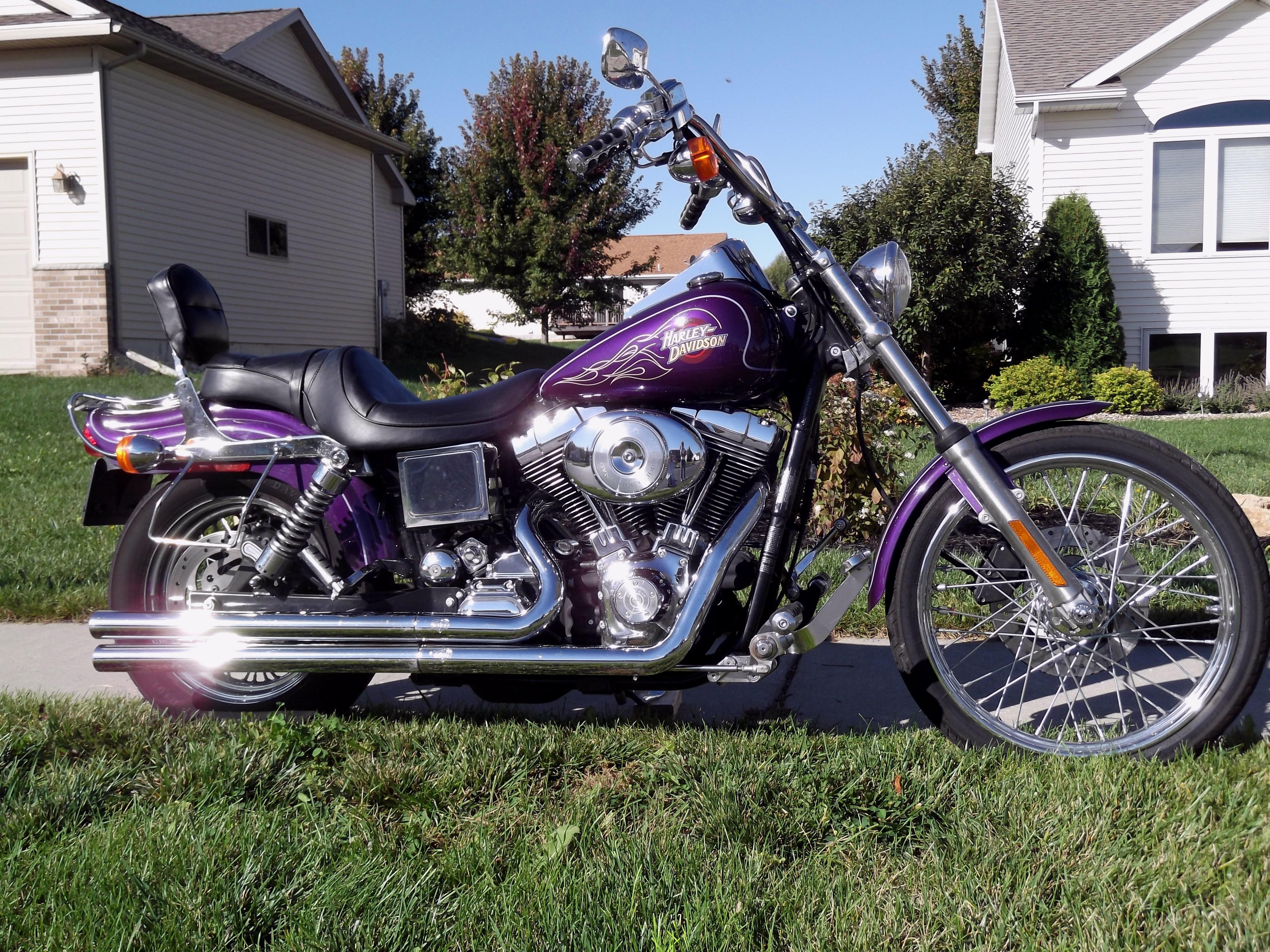 Harley Davidson Dyna Wide Glide Crash Bar