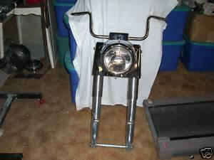Photo of a Harley Davidson ROADKING Wide Glide Dual Disc Front End