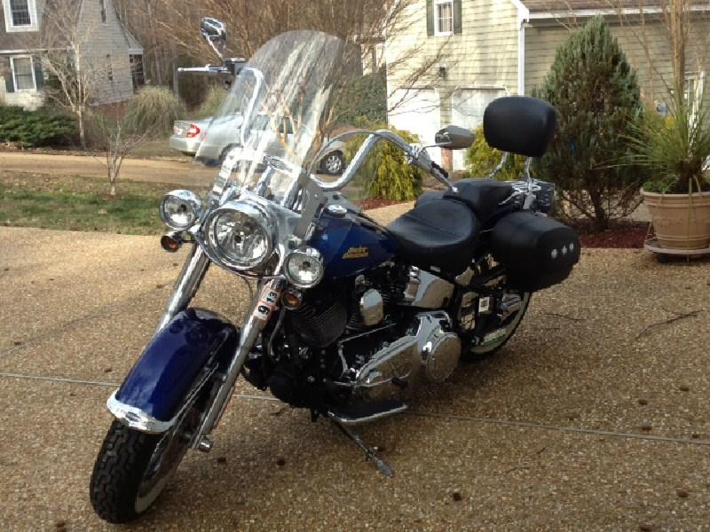 Harley Davidson Chico Ca >> 2007 Harley-Davidson® FLSTN Softail® Deluxe (Cobalt Blue), Williamsburg, Virginia (349501 ...