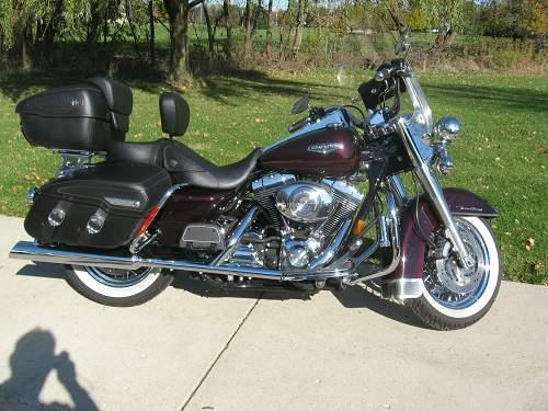 2005 Harley Davidson 174 Flhrci Road King 174 Classic Black