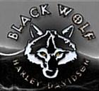 Black Wolf Harley-Davidson's Logo
