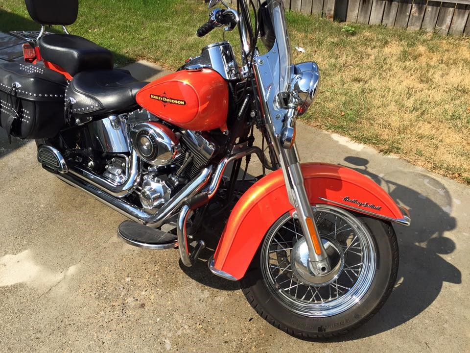 Harley Davidson Heritage Softail Tequila Sunrise For Sale