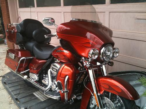 2010 Harley Davidson 174 Flhtcuse5 Cvo Ultra Classic