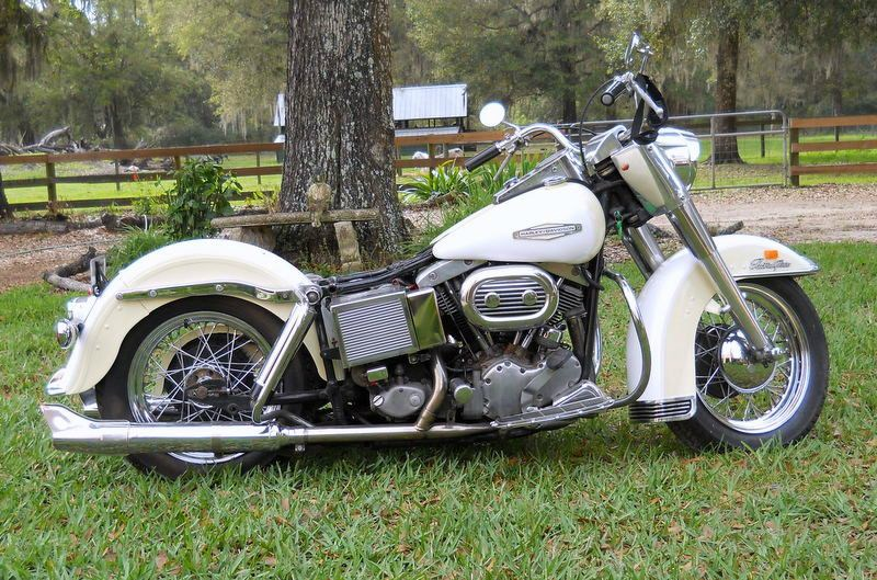 1968 Harley White Panels   Bushnell  Florida  438128