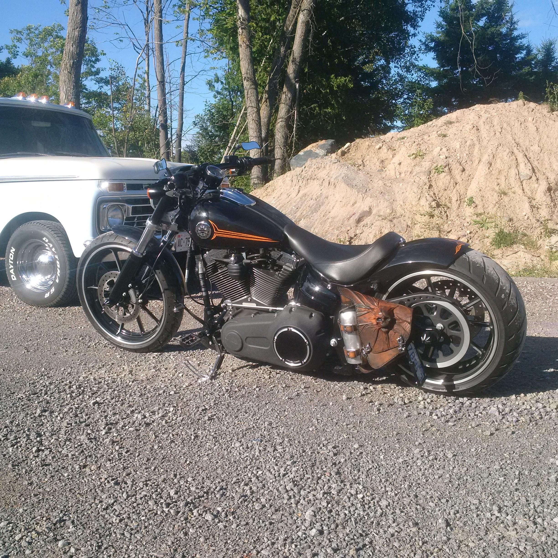 Cartersville Harley Davidson >> 2013 Harley-Davidson® FXSB Softail® Breakout™ (Black), Sault Ste Marie, Michigan (683605 ...