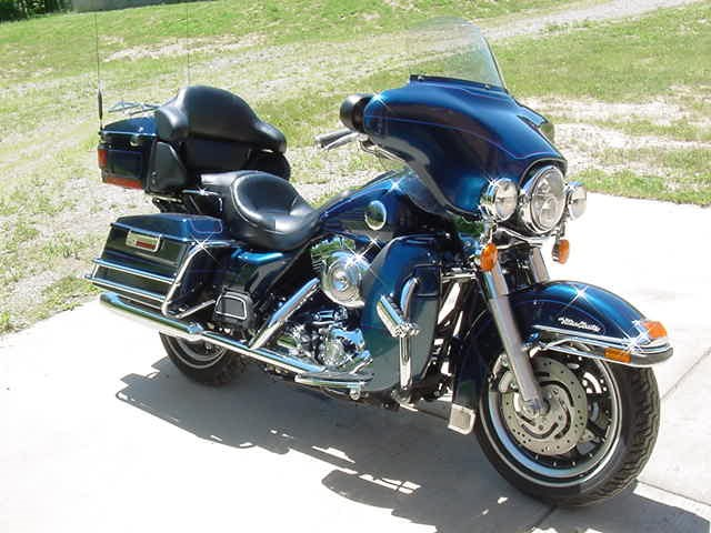 Harley Davidson Touring Motorcycles For Sale Dallas Tx >> 2004 Harley-Davidson® FLHTCU/I Ultra Classic® Electra Glide® (Blue), Highland, Michigan (632980 ...