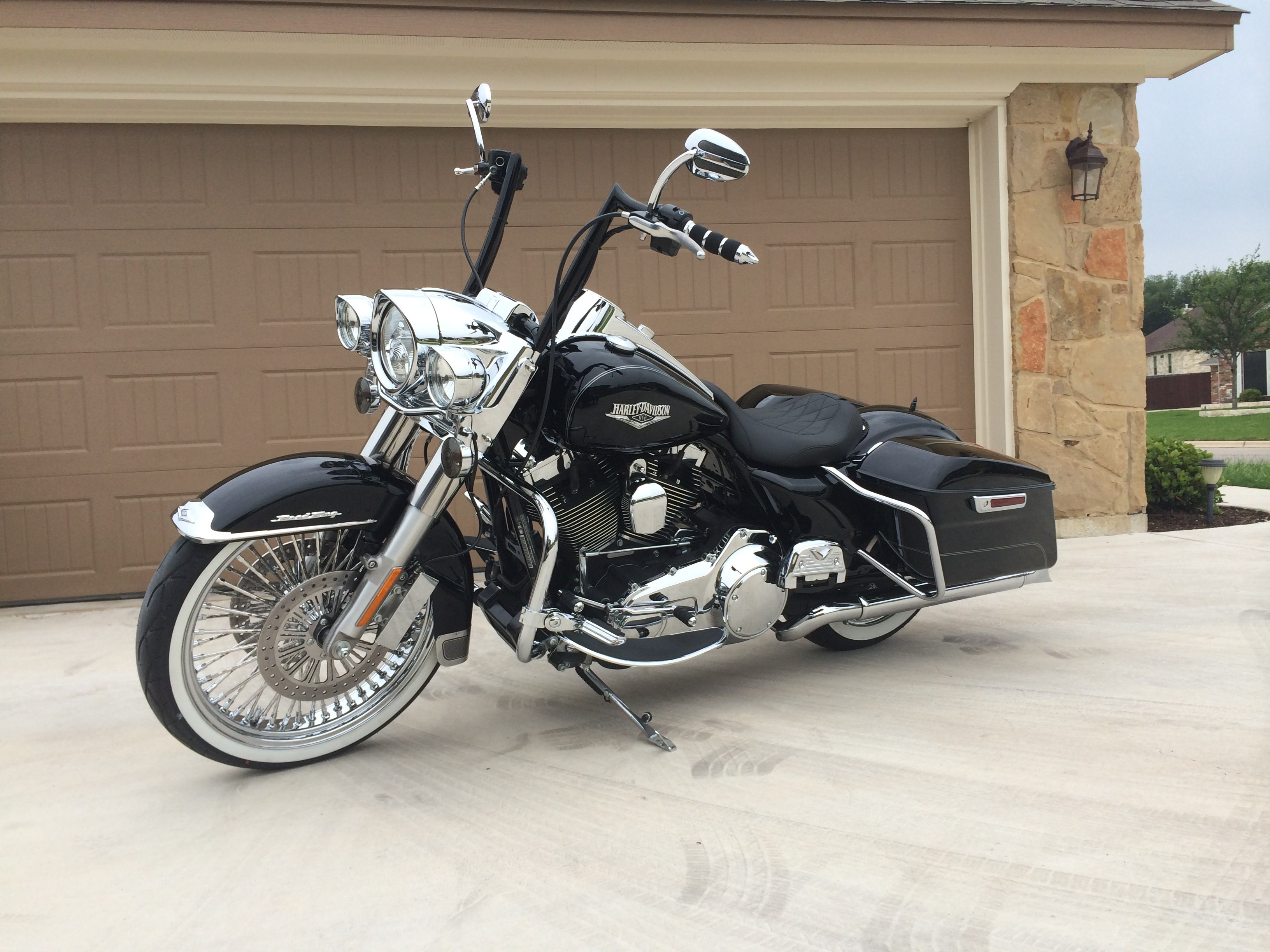 Harley Davidson Road King For Sale Mustang Ok >> 2014 Harley-Davidson® FLHR Road King® (Black), Lawton, Oklahoma (616649) | ChopperExchange