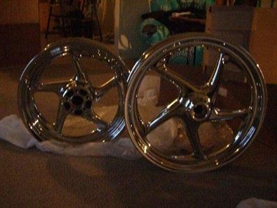 Photo of a 2009 and newer Reaper rims for Harley Davidson