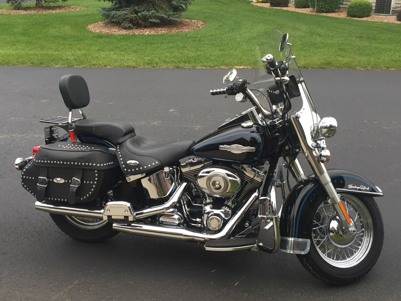 Photo of a 2008 Harley-Davidson® FLSTC Heritage Softail® Classic Firefighter/Peace Officer