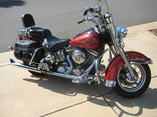 Photo of a 1998 Harley-Davidson® FLSTC Heritage Softail® Classic