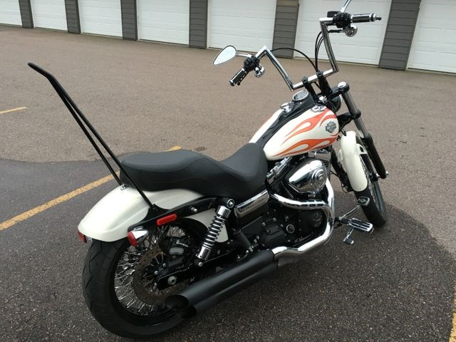 2014 Harley Davidson 174 Fxdwg Dyna 174 Wide Glide 174 Pearl White