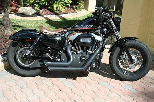 2011 Harley Davidson 174 Xl1200x Sportster 174 1200 Forty Eight
