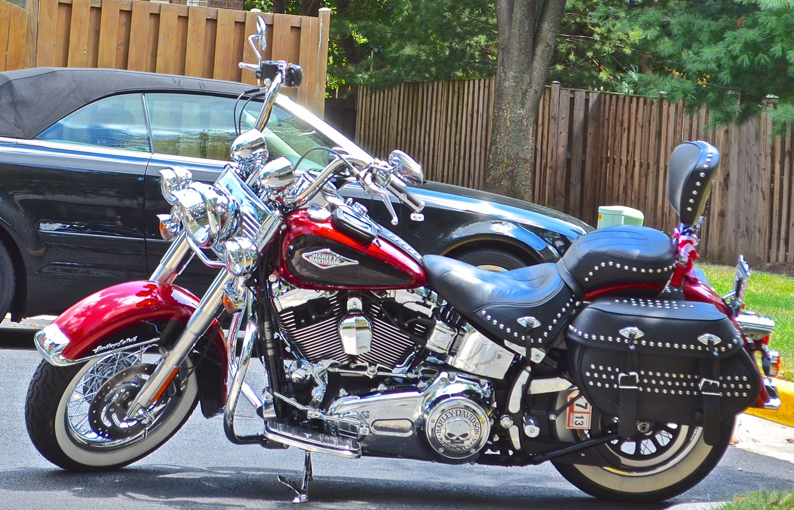 Softail Dealer Washington >> 2012 Harley-Davidson® FLSTC Heritage Softail® Classic (Merlot Sunglow), Washington , Distr. of ...