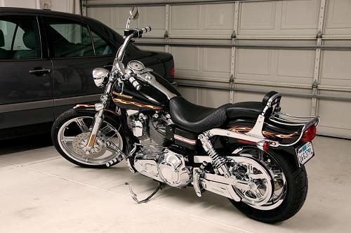 Red Line Tires >> 2002 Harley-Davidson® FXDWG3 Dyna® Wide Glide® 3 (Black with gold leaf trim), Las Vegas, Nevada ...