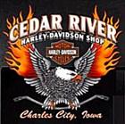 Cedar River Harley-Davidson Shop's Logo