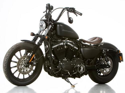 2011 Harley-Davidson® XL883N Sportster® Iron 883™ (black ...