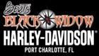 Bert's Black Widow Harley-Davidson's Logo