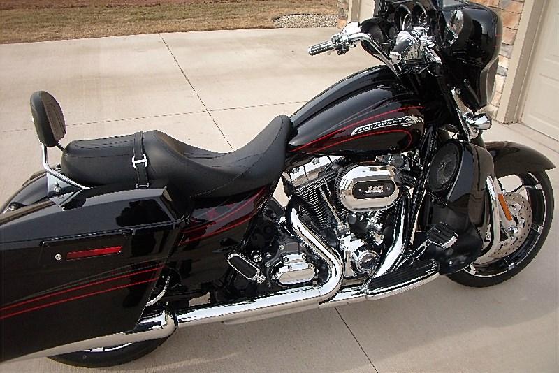 2011 Harley Davidson 174 Flhxse2 Cvo Street Glide 174 Black