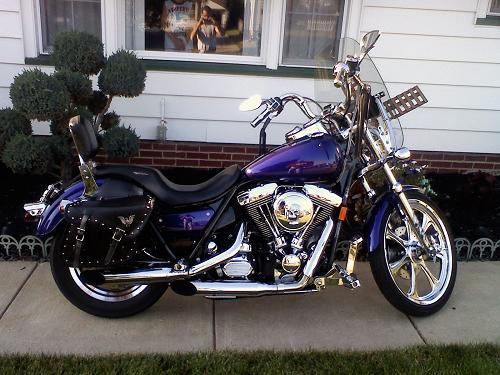 1999 Harley Davidson 174 Fxr2 Dyna 174 Low Rider Deep Dark Blue