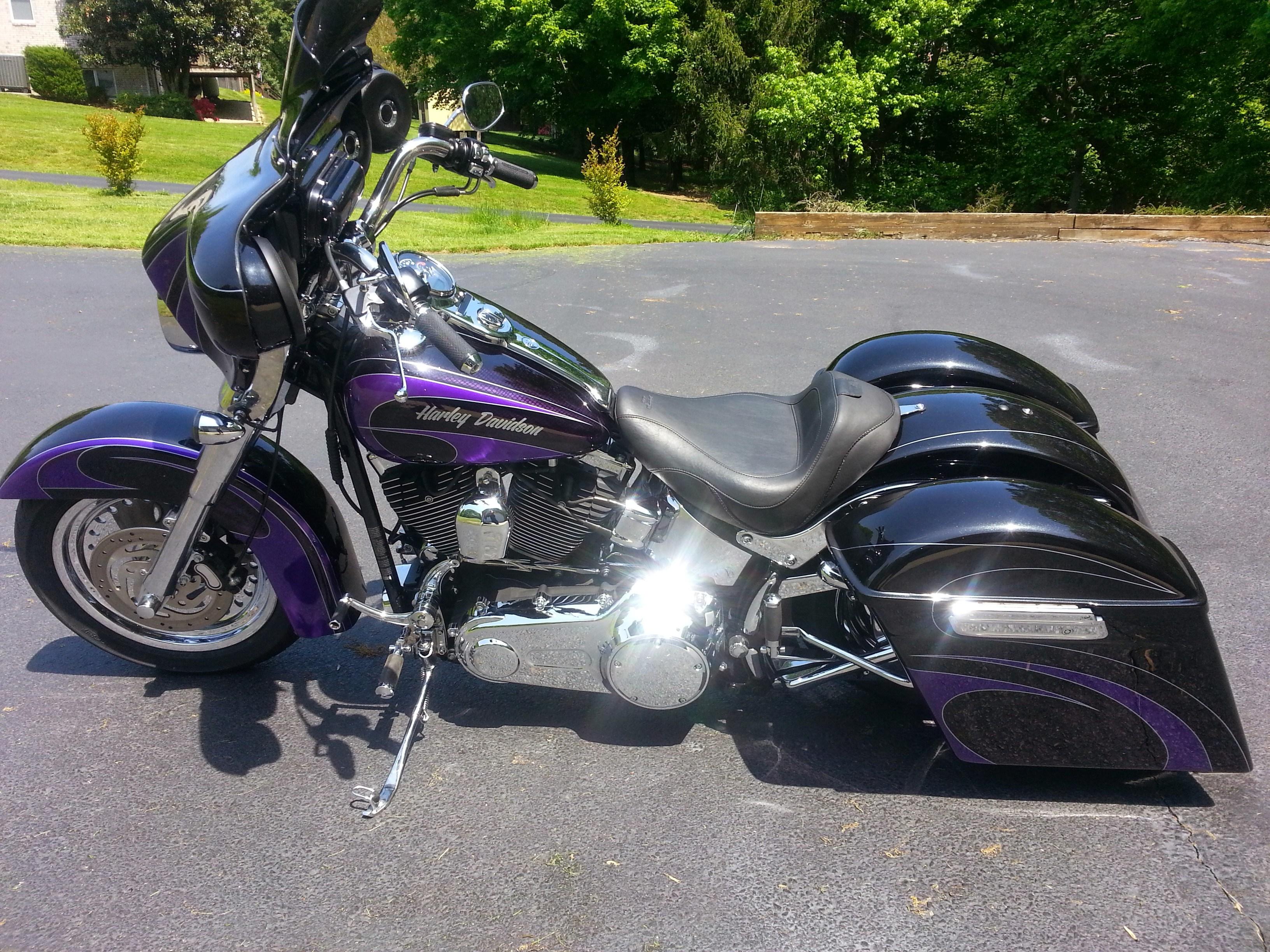 2009 Harley Davidson 174 Flstf Softail 174 Fat Boy 174 Tuxedo