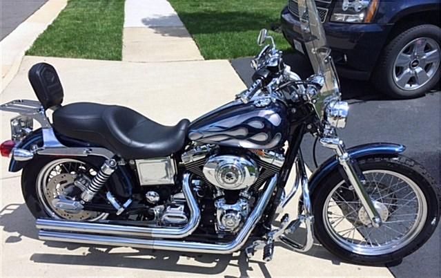 2005 Harley Davidson 174 Fxdl I Dyna 174 Low Rider Silver On Blue Manassas Virginia 488293 Cyclecrunch