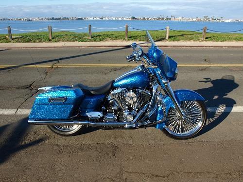 2007 Harley Davidson 174 Flhx Street Glide 174 Custom Oriental