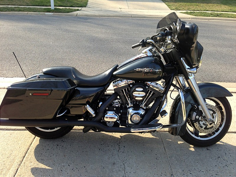 2009 Harley Davidson Flhx Street Glide Black Pearl Bel