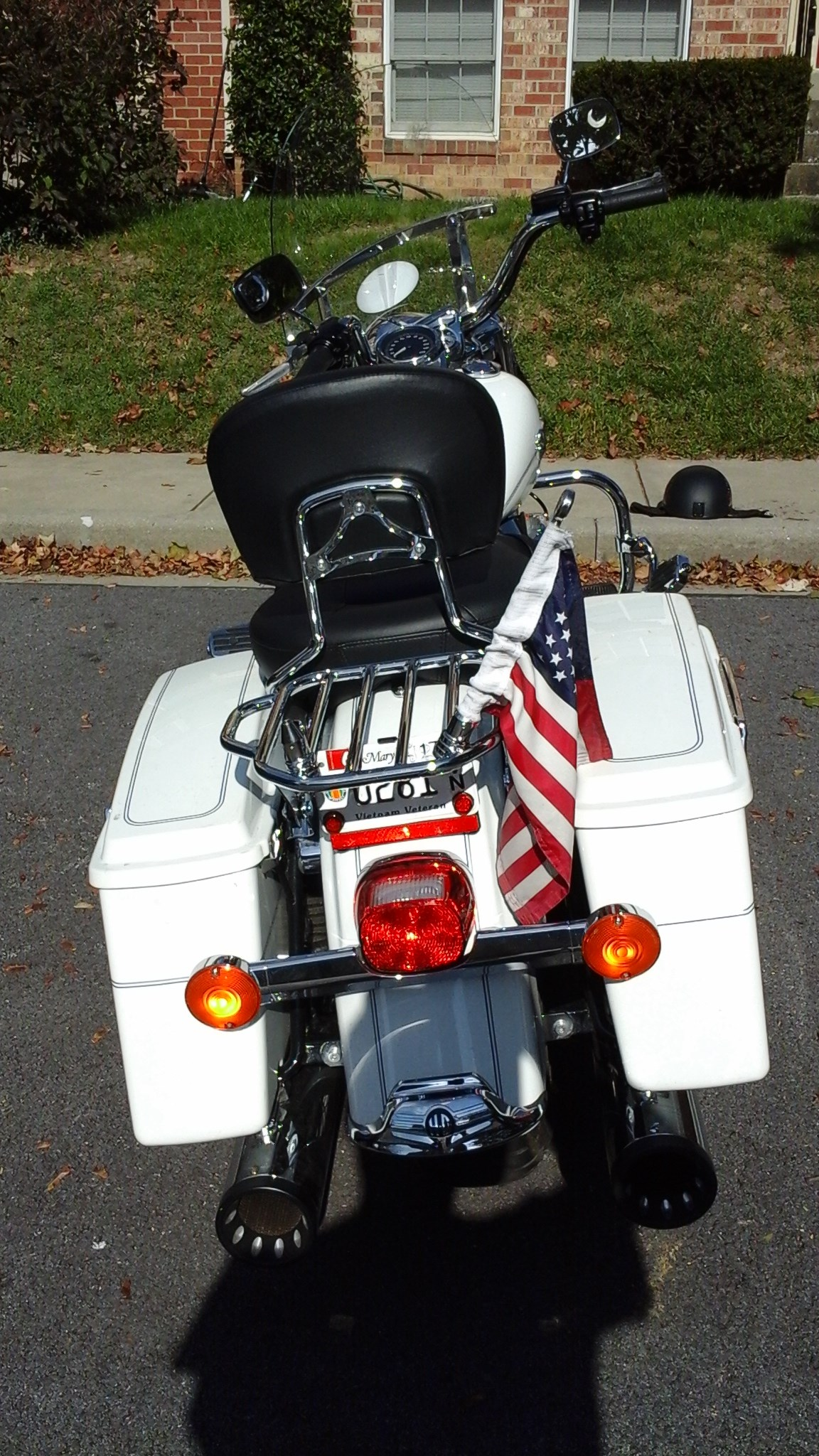 Used Harley Davidson Motorcycles For Sale San Marcos Tx >> 2013 Harley-Davidson® FLHRC/I Road King® Classic (Pearl White), Walkersville, Maryland (675073 ...