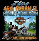 Zips 45th Parallel Harley-Davidson's Logo