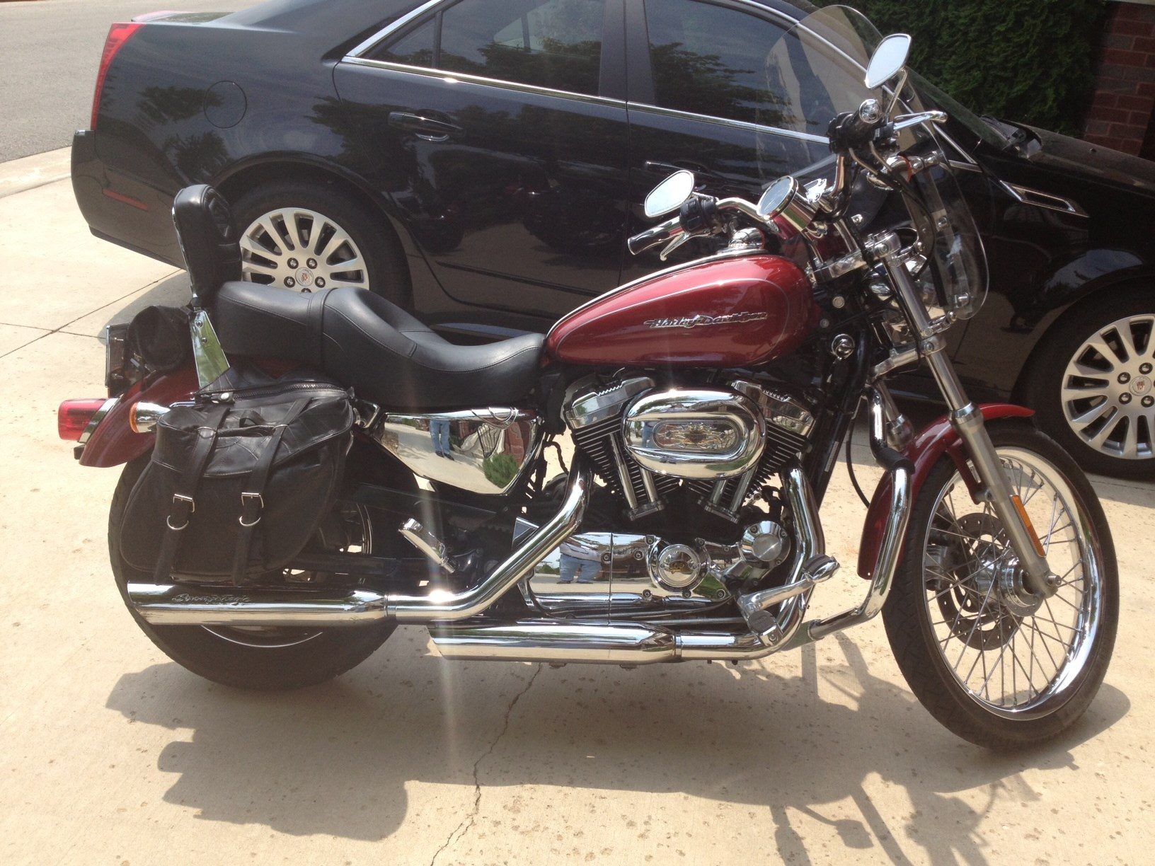 Harley Davidson: 2007 Harley-Davidson® XL1200C Sportster® 1200 Custom (Fire