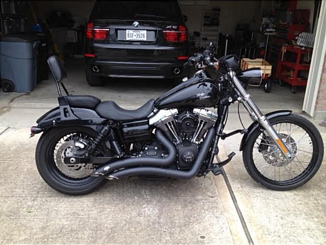 2012 Harley-Davidson® FXDWG Dyna® Wide Glide® (Black), Katy, Texas ...