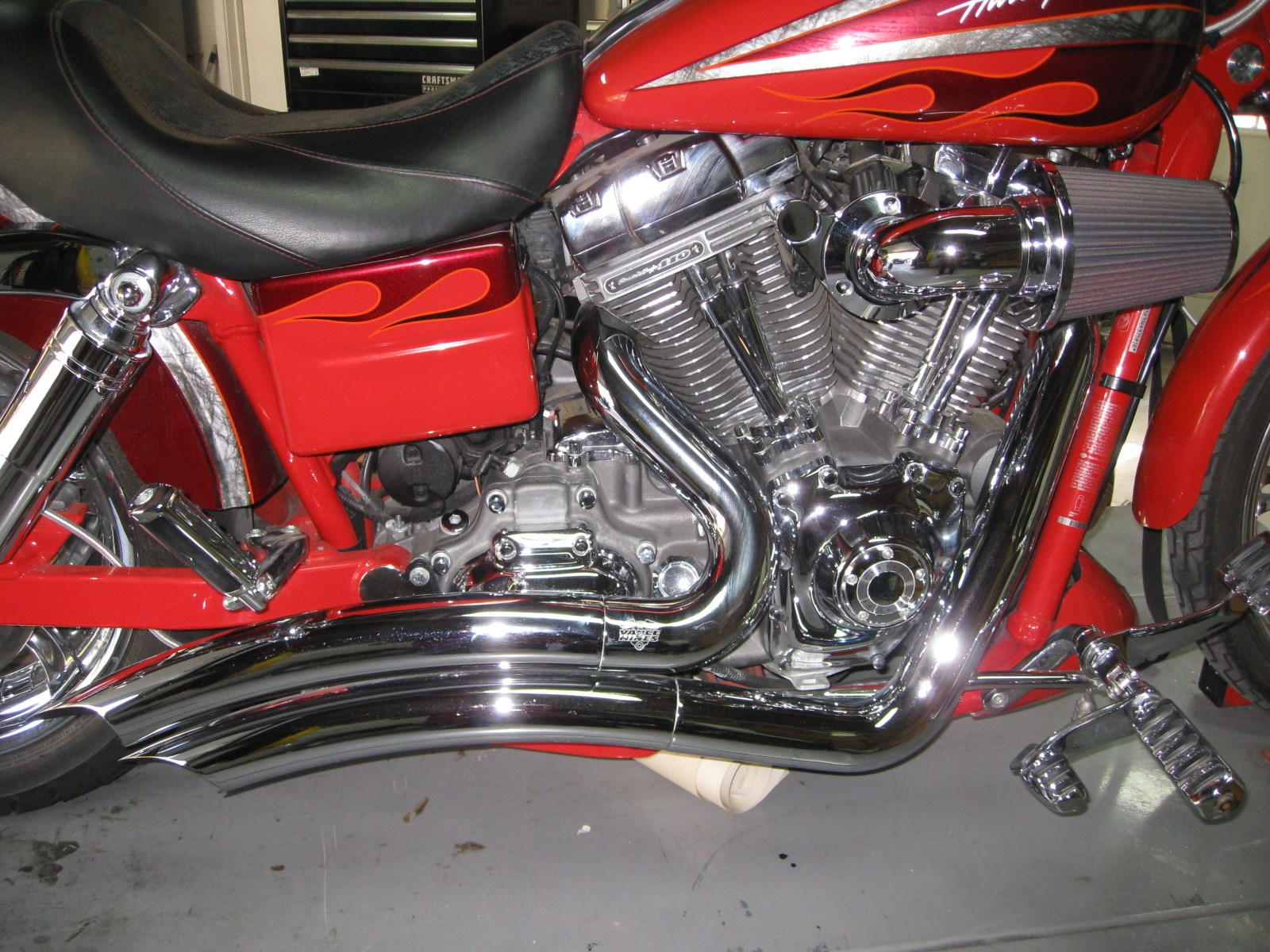 2008 Harley Davidson 174 Fxdse2 Screamin Eagle 174 Dyna
